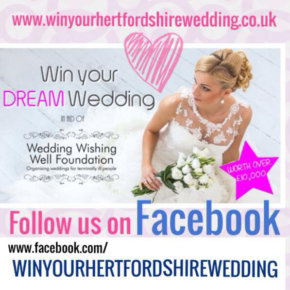 Launch Of Win Your Hertfordshire Wedding Competition